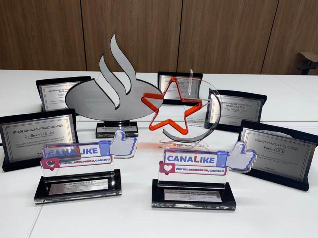 prêmios equipe paschoalotto santander e renault